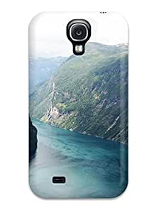 High-quality Durability Case For Galaxy S4(beautiful Fjord Norway)