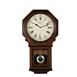 Bulova C3543 Ashford Old World Clock, Walnut Finish