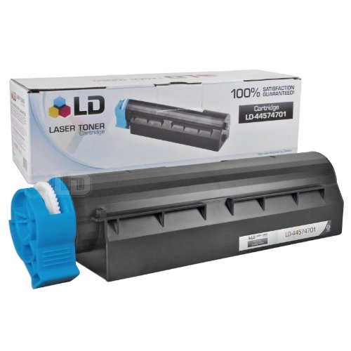 LD © Okidata Compatible 44574701 Black Laser Toner Cartridge for use in the MB461 MFP, MB471, MB471W, B411d, B411dn, B431d & B431dn Printers