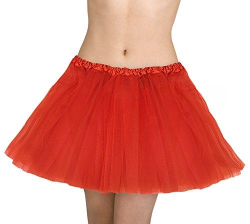 Kangaroo's Deluxe Tutu, Choice of Colors: (Red) - Petticoat Tutu