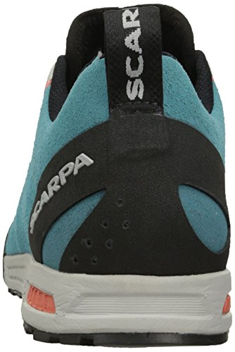 6f35c7db6aabb Scarpa Women's Gecko WMN Approach Shoe, Ice Fall Brown/Coral Red, 39 ...