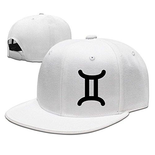 Price comparison product image HNN Unisex Gemini Zodiac Sign Symbol Flat Baseball Caps Hats