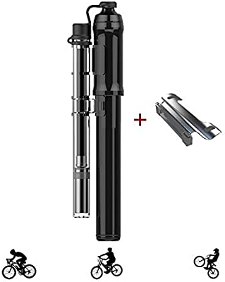 Bomba Bicicletas Mini Portátil 260PSI ,Bomba de Bici para Fiable ...