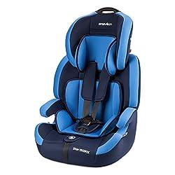 Babylon Star ISOFIX Autokindersitz Gruppe 1/2/3, 9-36kg Kindersitz mit Isofix und Top Tether 5 Punkt Sicherheitsgurt…