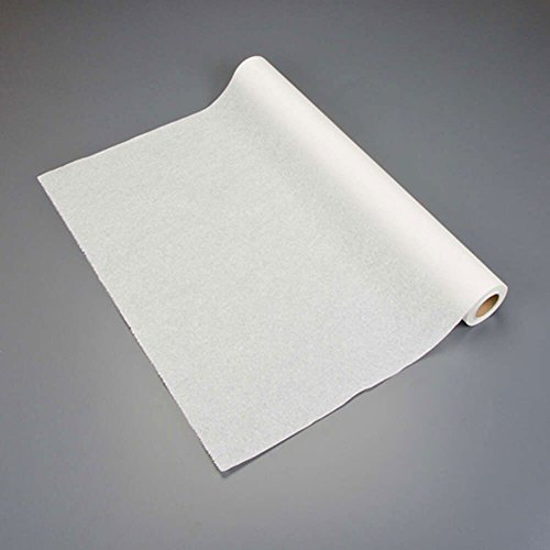 Graham Medical 007 Quality Table Paper, Crepe, 24'' Width, 125' Length, White (Pack of 12) by Graham Medical
