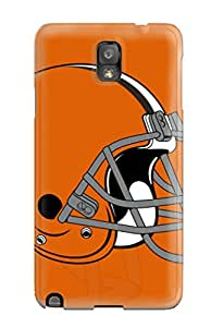 Galaxy Cover Case - Clevelandrowns Protective Case Compatibel With Galaxy Note 3