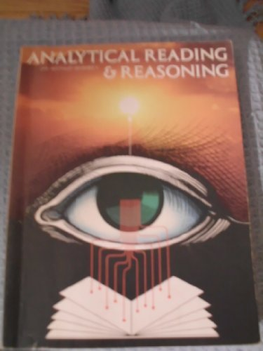 Analytical Reading & Reasoning, Dr. Arthur Whimbey