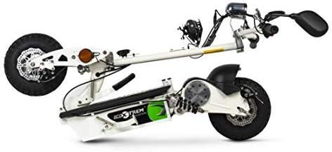 El plegado del patinete electrico ecoxtrem 800W es muy simple
