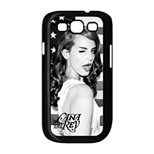 Customiz American Famous Singer Lana Del Rey Back Case for Samsung Galaxy S3 I9300 JNS3-1523