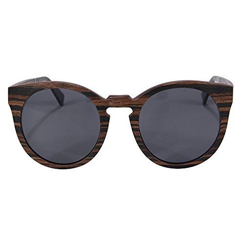 conducción los Hombres UV a Calidad de Aire de Sol Ligero Libre Ultra Madera de de Lens de Polarized Gafas de Hechas Gimitunus al Hombre Alta Protección Sol Gris en la Playa para Gafas TAC Mano Vacaciones n6gvBwOq