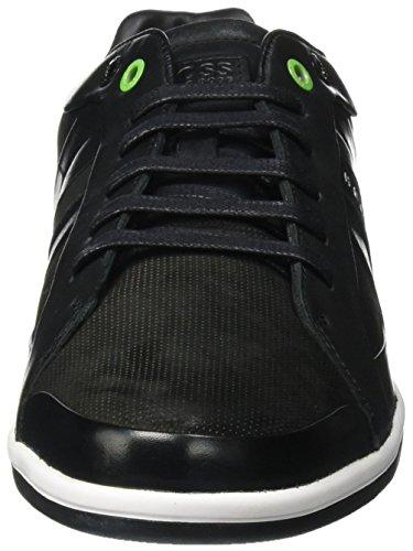 BOSS Green Metro_tenn_ltnu 10195483 01, Zapatillas para Hombre Negro (Black 001)