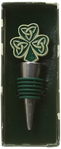 Fashioncraft Shamrock Trinity Bottle Stoppers