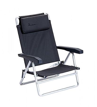 2 x Isabella silla de playa con correa para carga máxima 100 kilos – Beach Chair