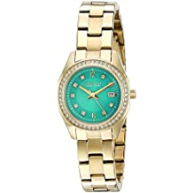 Caravelle New York Women's Quartz Stainless Steel Dress Watch (Model: 44M109)
