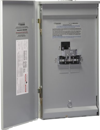 Reliance Controls Corporation TWB2006DR Outdoor Transfer Panel (Best Transfer Switch For Generator)