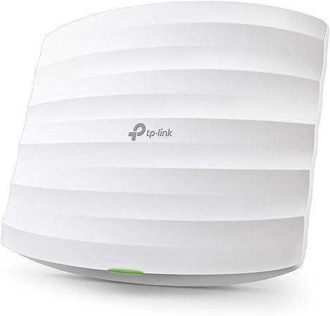 TP-Link EAP225 - Punto de Acceso Gigabit Inalámbrico MU-MIMO AC1350, Montaje en Techo, WiFi Empresarial, Acceso a la nube, Puerto ethernet Gigabit ...