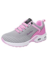 Geetobby Women's Walking Shoes Slip On Mesh Breathable Casual Running Sneakers