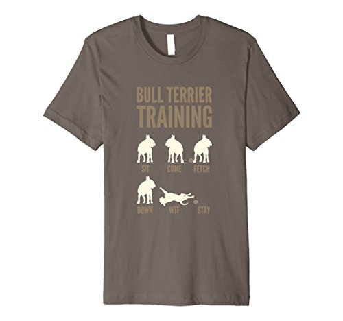 Mens English Bull Terrier Training Shirts 2XL Asphalt