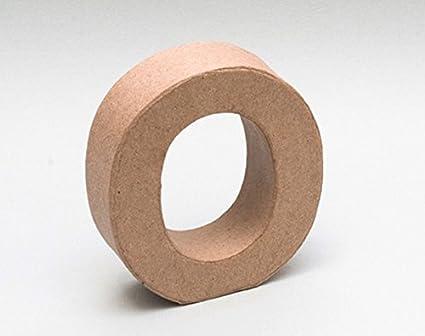 Letra de cartón - O: Amazon.es: Oficina y papelería