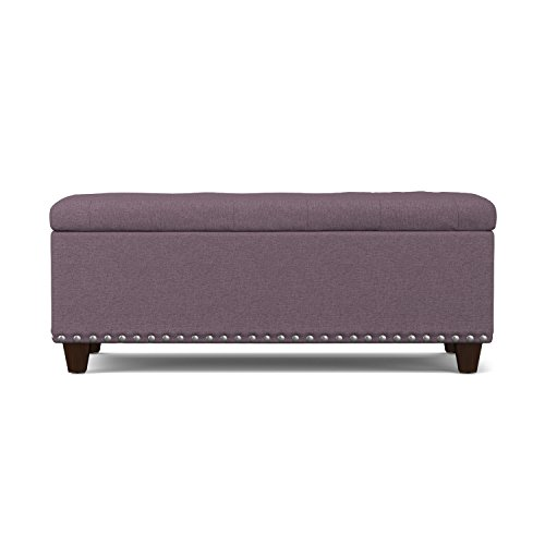 Handy Living Tufted Storage Ottoman