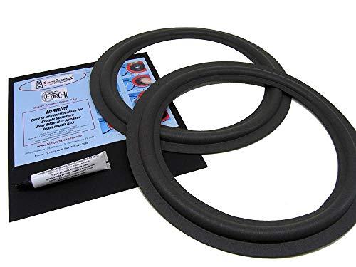 - Radio Shack Speaker Foam Edge Repair Kit, Realistic Mach Two, FSK-15M