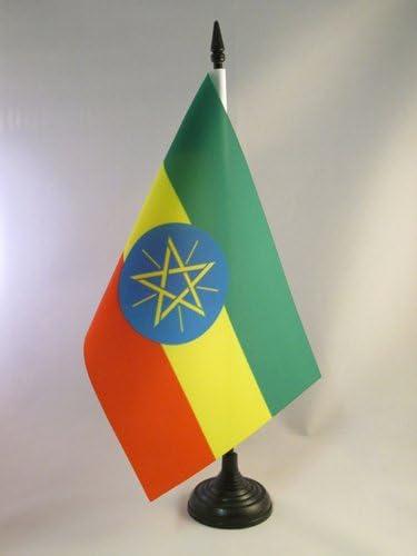 CONGOLESE DESK FLAG 21 x DEMOCRATIC REPUBLIC OF THE CONGO TABLE FLAG 5/'/' x 8/'/'