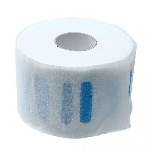 Askdasu - Papel para el cuello para bufandas de pelo, desechable, papel para cortar el pelo