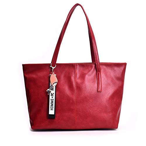 vintage rosso nappa donna da Pu marrone pxqRS8xw