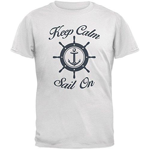 Old Glory Herren T-Shirt Weiß Weiß