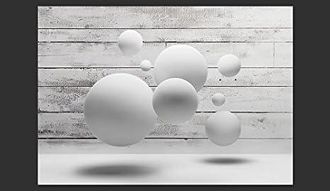 murando Papier peint intiss/é 100x70 cm D/écoration Murale XXL Poster Tableaux Muraux Tapisserie Photo Trompe loeil bois balle 3D f-A-0322-a-a