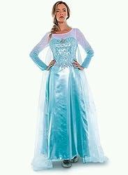 Disney D23 Official Queen Elsa Adult Costume Size 10...