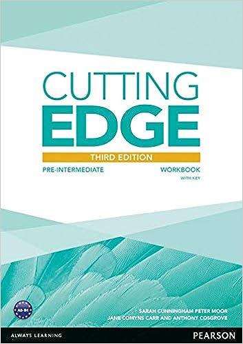 New Cutting Edge Upper Intermediate Workbook Pdf