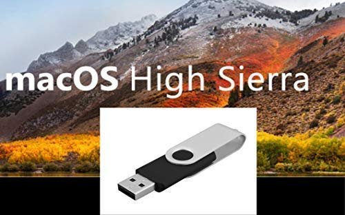 Amazon com: Mac OS X Boot Install Disk High Sierra USB 8GB