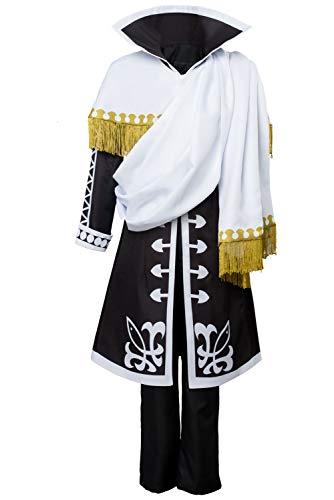 Ya-cos Zeref Dragneel Emperor Outfit Cosplay Costume Fairy Tail Season 5 Halloween Full Set Suit Uniform