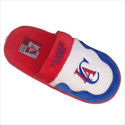 LAC02-2 Los Angeles Clippers - Medium - Happy Feet NBA Scuff Slippers
