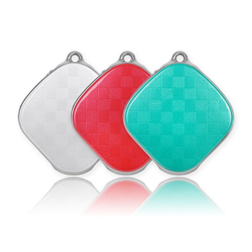 Micodus Mini GPS Tracker Kids Child GPS Locator Real Time Tracking Device No Monthly Fee MT9 Free Web APP Tracking (Red) by Micodus