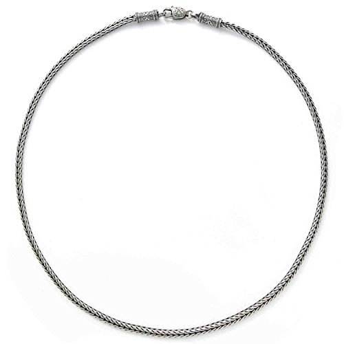 Konstantino Men's Sterling Silver Chain, 24 Inches Long