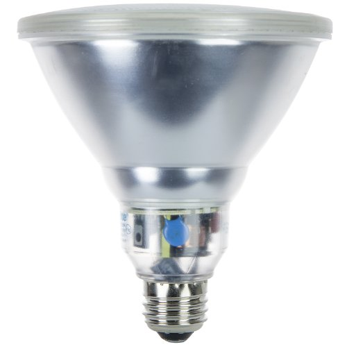 Sunlite SL23PAR38/30K 23 Watt PAR38 Reflector Energy Saving CFL Light Bulb Medium Base Warm White ()