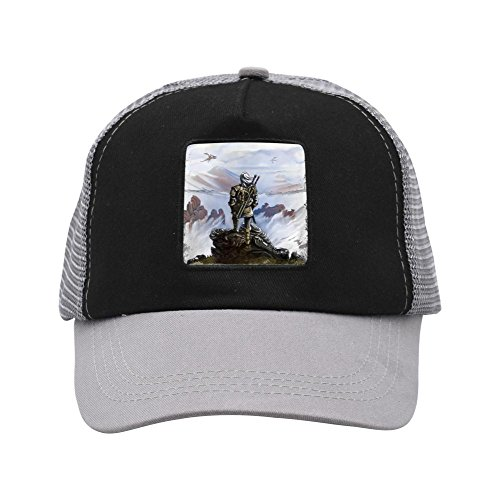 Ringkyo Trucker Hat Game Witcher Adjustable Gray Cap