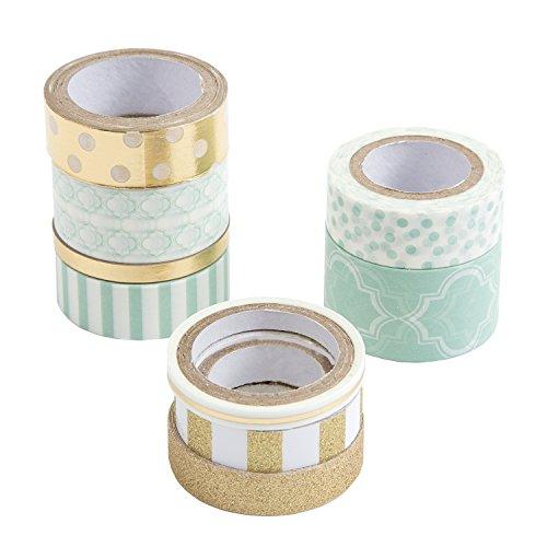Price comparison product image Darice Mint Washi Tape Assortments