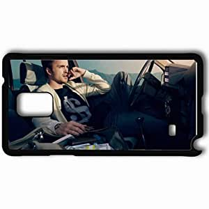 Personalized Samsung Note 4 Cell phone Case/Cover Skin Aaron Paul Auto Actor Celebrity Black