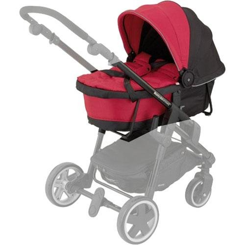 Kiddy Click 'n Move 3 Carrycot - Cranberry by Kiddy