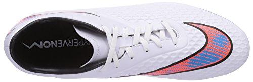 White Nike Total para Hypervenom Lagoon hombre Black Blue Fg Zapatos Crimson Phelon Blanco rrqw0vfB