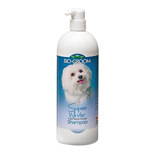 BioGroom Super White Coat Brightener Shampoo, 32 (White Coat Shampoo)