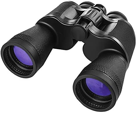 [해외]20x50 쌍안경 성인용 컴팩트 HD 프로페셔널방수 쌍안경 조류 관찰 여행 사냥 콘서트 스포츠-BAK4 Prism FMC 렌즈 스트랩 휴대용 가방 포함 / 20x50 Binoculars for Adults Compact,HD ProfessionalWaterproof BinocularsLow Light Night Vision for...