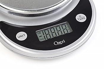 Ozeri Zk14-s Pronto Digital Multifunction Kitchen & Food Scale, Elegant Black 16