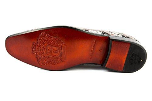 Melvin & Hamilton - Zapatos de cordones de Piel Lisa para hombre gris gris 42