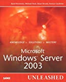 img - for Microsoft Windows Server 2003 Unleashed book / textbook / text book