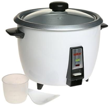 amazon com salton ra7a 7 cup rice cooker kitchen dining rh amazon com salton rice cooker ra7a instructions salton rice cooker ra7a instructions