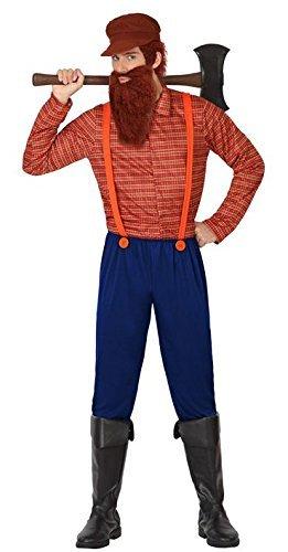 atosa 26306Â -Â Lumberjack Mens Fancy Dress Costume by ATOSA  sc 1 st  Amazon.com & Amazon.com: atosa 26306Â -Â Lumberjack Mens Fancy Dress Costume by ...